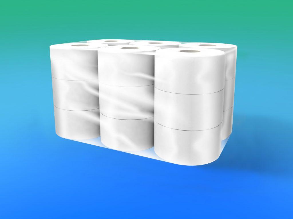 MINI Jumbo pura cellulosa, 2 veli g 500 – diametro cm 18,5